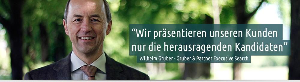 Foto von Wilhelm Julian Gruber - Gruber & Partner Executive Search