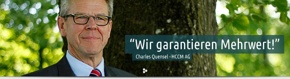 Foto von Charles Quensel - HCCM® AG
